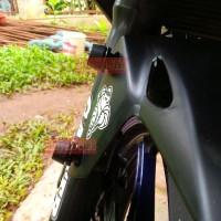 harga Baut Monel Spakbor Depan Mini Frame Slider Pnp Universal - Black Tokopedia.com