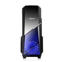 SEGOTEP GAMING CASE SPRINT - Include Front Led Fan (Black)