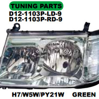 HEAD LAMP MOBIL + CORNER LAMP LANDCRUISER 1998 FJ100 (GREEN)
