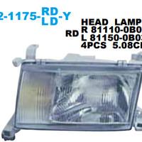 HEAD LAMP MOBIL + FOG LAMP KIJANG CAPSULE 1997