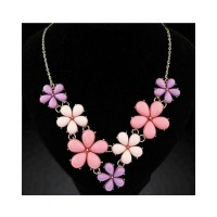 Kalung Bunga-bunga / Aksesories Korea / Fashion Korea