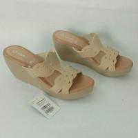 Sandal Wedges ST.YVES KK06 ORIGINAL, Sandal Wanita, Sandal Branded