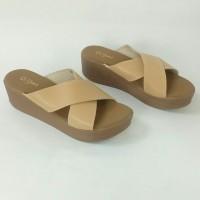 Sandal Wedges ST.YVES SAW14 ORIGINAL, Sandal Wanita, Sandal Branded