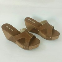 Sandal Wedges ST.YVES 8080P ORIGINAL, Sandal Wanita, Sandal Branded