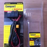 Kabel Set Relay Lampu 3 Relay Compact BOSCH Soket H4