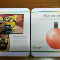 Google Chromecast 2 Model 2015 Special Red Edition HDMI Streaming