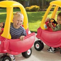 Jual LITTLE TIKES CLASSIC COZY COUPE YELLOW RED Murah