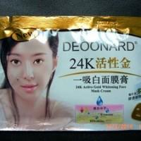 Masker Gold Deoonard 24K (Masker Lumpur) Murah