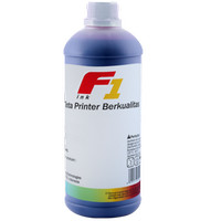 Tinta Printer F1 Ink for Printer HP Cyan 1 Kg, Tinta Infus Inkjet