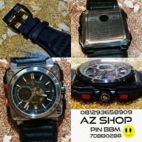Jam Tangan Bell & Ross BR-X1 Silver & Black Grade Super