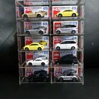 Acrylic Display Case / Kotak Display Akrilik / Rak Tomica Hotwheels