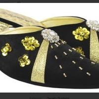 Sepatu Bustong Wanita Hitam Giardino GRN 106