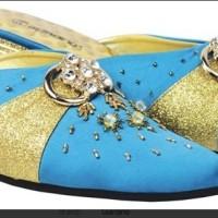 Sepatu Bustong Wanita Biru Giardino GRN 107