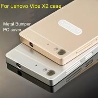 Casing Lenovo Vibe X2 slim metal slide bumper hard back case aluminium