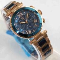 Gc X5742 Rosegold Blue Ceramic Combi