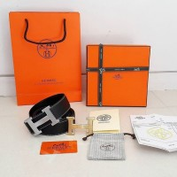 BELT HERMES REVERSIBLE BLACK MIRROR QUALITY