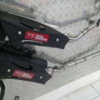 Knalpot R9 Misano Yamaha Jupiter Mx, New, Knalpot Racing R9 Misano