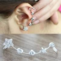anting panjang bintang kotak hati/ Long earrings box star love JAN006