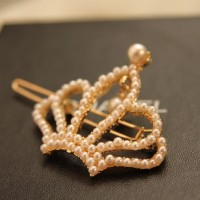 jepit mutiara mahkota pita bintang hairpin pearl crown bow star JJE001