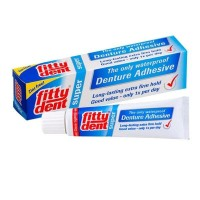Fittydent lem gigi palsu denture adhesive