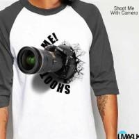harga Kaos 3D Umakuka Shot me with camera Tokopedia.com