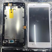Lcd Touchscreen + Frame Lenovo A2010 Ori Fullset