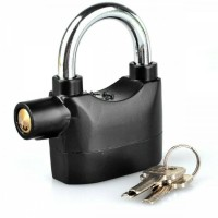 Gembok Alarm Anti Maling 110 DB