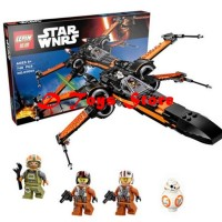 Brick / Lego Star Wars First Order Poe's X-wing Fighter Merek Lepin