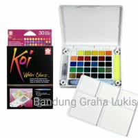 Sakura Koi Watercolor 30 warna