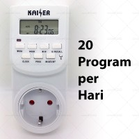 Digital Timer Switch / Stop Kontak Programmable - Kaiser