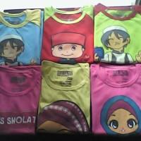 Kaos Anak Karakter Muslim
