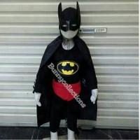BAJU SUPERHERO BATMAN ANAK - KOSTUM BATMAN LENGKAP dengan ATRIBUT