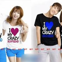 KAOS COUPLE CRAZY LOVE