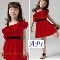 Ap1 Dress Cantik Imut Good Quality Produksi Sendiri Size Lengkap