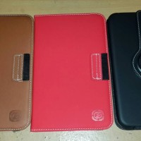 leather case samsung tab 3 T310/T311 ukuran 8 inch