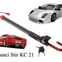 Jual Kunci Stir Mobil Dan Pedal / Kunci Setir KC 21 Murah
