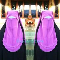 Niqob, Niqab, Poni Warna, Cadar, Syari, Burdah, Nyaman