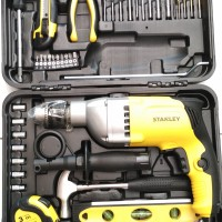 Stanley STDH7213V Mesin Bor Tembok 13mm + Hand Tool Kit Set 40 Pcs