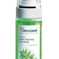 Sabun Cuci Muka Himalaya - Neem Foaming Face Wash Himalaya Herbals