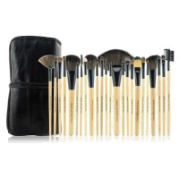 Makeup For You Brush Set Isi 24 Bamboo
