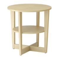 IKEA VEJMON Meja Samping Tempat Tidur - Vneer Kayu Birch, 60 Cm