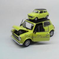 tokomoro miniatur mobil klasik mini cooper minicooper 1300 mr bean 1