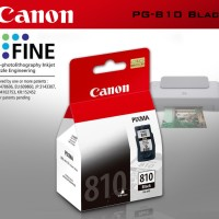 Cartridge Canon PG 810 Black Printer iP2770 MP258 MP276 MP296 MP496