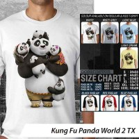 Kung Fu Panda World 2 TX ~ Tshirt/Kaos/Raglan/Anak Oceanseven