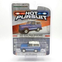 Greenlight 1:64 Hot Pursuit - 1967 Ford Bronco Glen Alpine, NC Police
