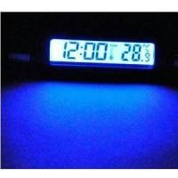 Jual termometer + jam digital mobil car . Murah