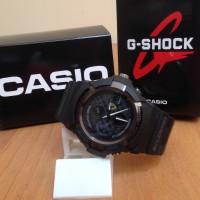 Arloji / Jam Tangan Casio Gshock G-shock Ferrari Full Black Dualtime