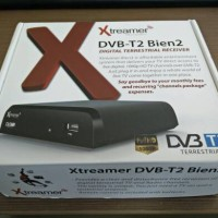 Xtreamer Set Top Box DVB-T2 Bien2 and Media Player Hitam New - Bogor