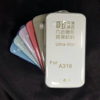 Lenovo A316 A316i Ultrathin Case Cover Softcase Silikon