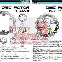 PIRINGAN CAKRAM ROTOR DISC TDR FIZR/JUPITER Z/MX/VEGA ZR/X RIDE/ 220MM